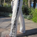 White SNAP Pants– men or women