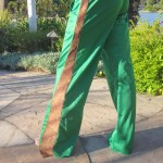 Green SNAP Pants– men or women
