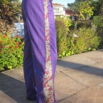 Purple SNAP Pants– men or women