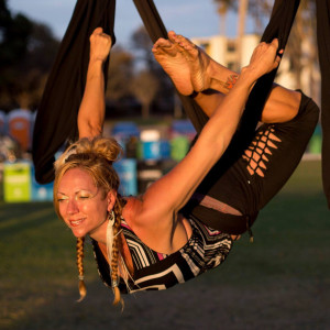 Aerial Yoga Play @ The Healyng Sanctuary | San Rafael | California | United States